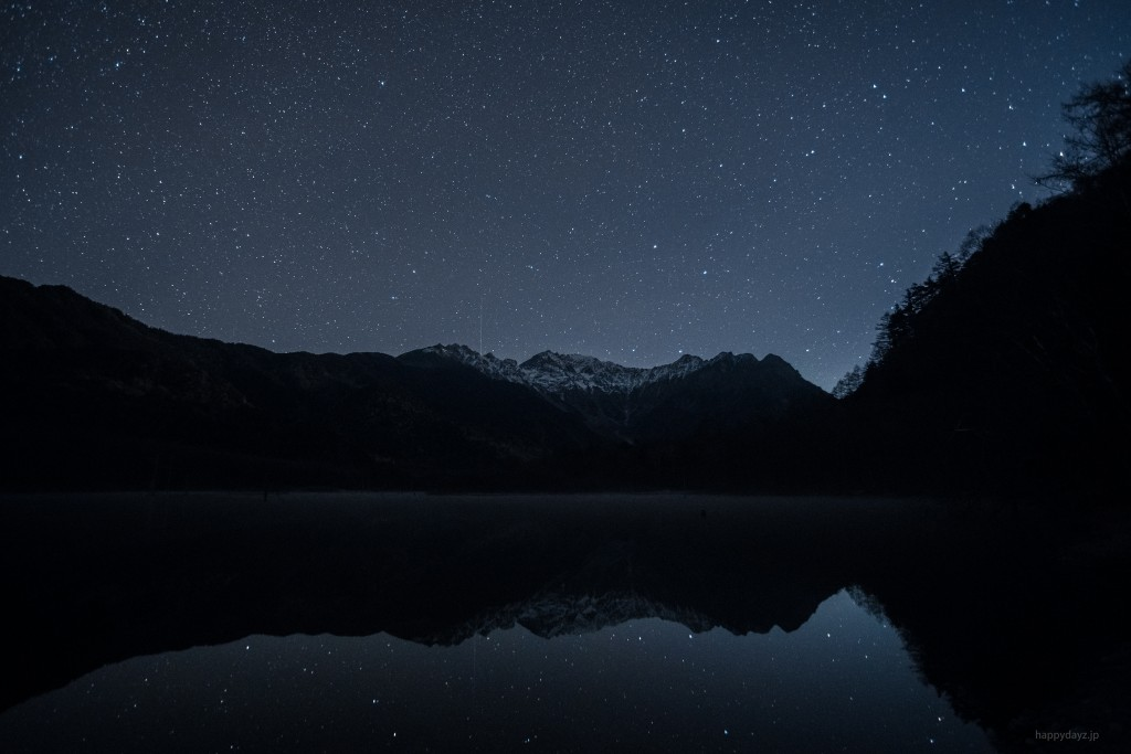 夜の上高地